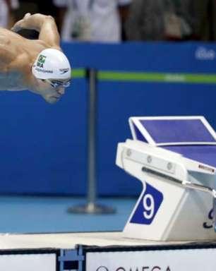 Marcelo Chierighini é ouro nos 100m livre no Pan-Americano