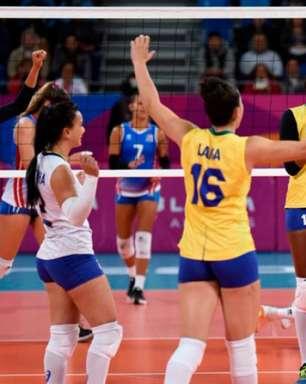 Brasil passa pelos EUA e está na semifinal do Pan no vôlei feminino