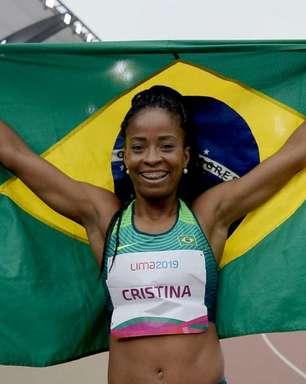 Pan: Vitória Rosa conquista medalha de prata nos 200m rasos