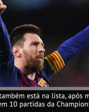 FUTEBOL: Lista da Uefa: Messi, Cristiano e Van Dijk são finalistas de prêmio de Jogador do Ano
