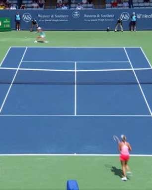 WTA Cincinnati: Barty venceu Kontaveit (4-6 7-5 7-5)