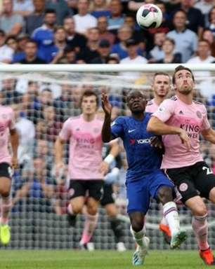 Chelsea empata com o Leicester na estreia de Lampard em casa