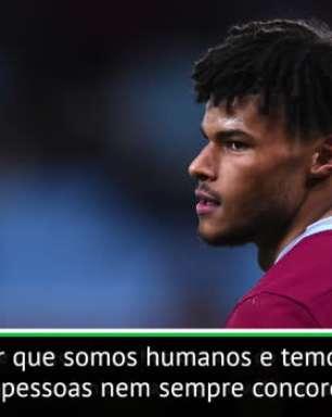 """FUTEBOL: Eliminatórias Euro 2020: Tyrone Mings: """"Jogadores precisam mostrar personalidade sobre o racismo"""""""