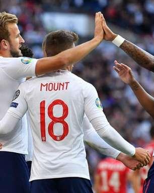 Com show de Kane, Inglaterra goleia a Bulgária em casa