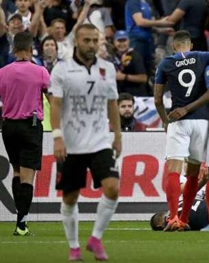 França goleia Albânia e fica perto de vaga na Eurocopa