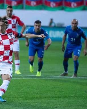 Croácia fica no empate com o Azerbaijão pelas Eliminatórias da Eurocopa