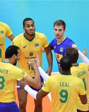 Brasil bate Egito e segue 100% na Copa do Mundo de vôlei