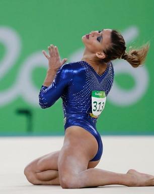 Jade Barbosa precisará de cirurgia e vaga olímpica fica mais longe
