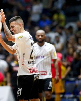 Corinthians atropela Sorocaba e é campeão paulista de futsal