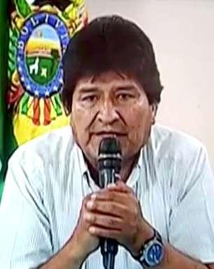 "México acusa ""golpe"" e reconhece Evo presidente ""legítimo"""