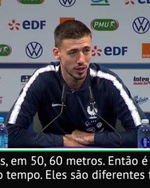 """FUTEBOL: Eliminatórias Euro 2020: Lenglet: """"Não é fácil para Griezmann se encaixar no Barcelona"""""""