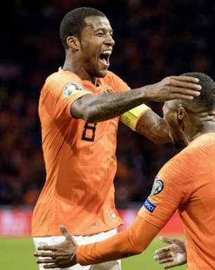 Wijnaldum faz 3, Holanda goleia Estônia e fecha 2019 em alta