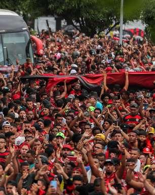 Torcida do Flamengo promete outra despedida histórica