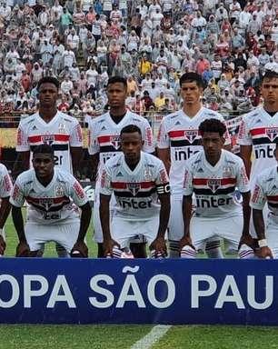 São Paulo empata com o Operário na estreia da Copinha