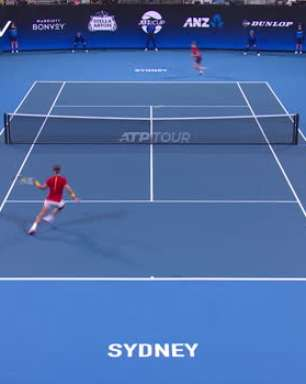 ATP Cup: David Goffin v Rafael Nadal - 6-4, 7-6