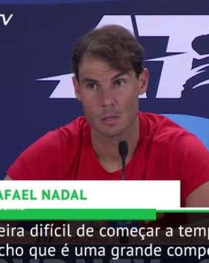 """TÊNIS: ATP Cup: Nadal: """"Duas Copas do Mundo em 1 mês não é possível!"""""""