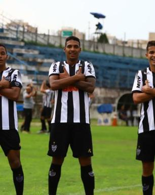 Atlético-MG goleia o ABC e avança para a terceira fase da Copinha