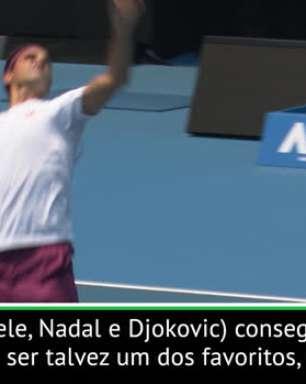 """TÊNIS: Australia Open: Federer: """"Estou ciente de que talvez aos 38 anos eu não devesse ser o favorito"""""""