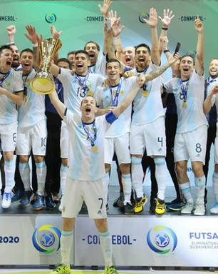Brasil é superado pela Argentina na decisão das Eliminatórias para a Copa do Mundo de futsal