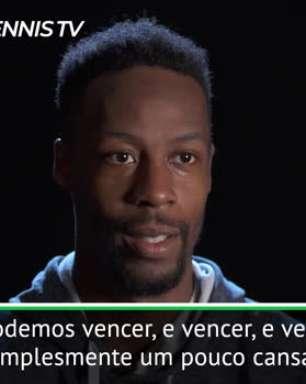 """TÊNIS: ATP Roterdã: Monfils: """"Vencer semana após semana é demandante, mas treinamos para isso"""""""