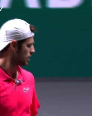TÊNIS: ATP Roterdã: Khachanov bate Fognini (6-3,6-3) - Melhores Momentos