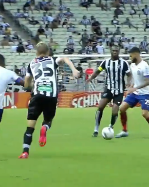 Ceará marca no fim e arranca empate com Bahia na Copa do Nordeste