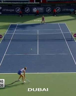 WTA Dubai: Rybakina elimina Pliskova (7-6, 6-3)