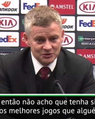 FUTEBOL: UEFA Europa League: Solskjaer critica bola da Europa League após empate com Brugge