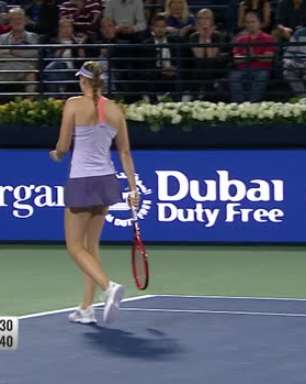 WTA Dubai: Rybakina derrota Martic (7-6, 7-6)