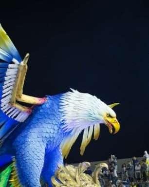 Águia de Ouro ganha título inédito no Carnaval de SP em 2020