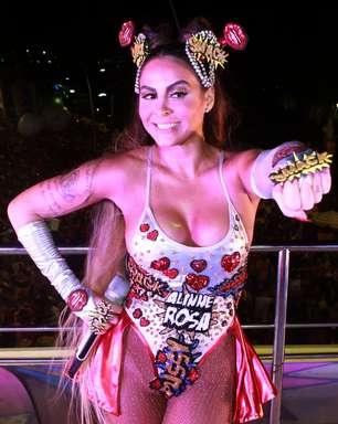No Carnaval, Alline Rosa incentiva o empoderamento feminino