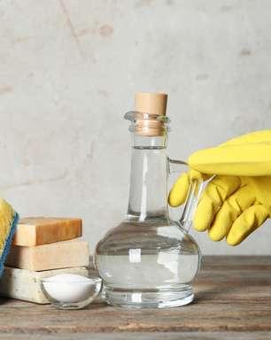 É possível usar o vinagre como desinfetante?