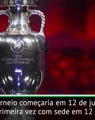 FUTEBOL: UEFA: Eurocopa é adiada para 2021