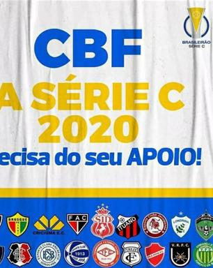 Clubes da série C pedem apoio financeiro à CBF