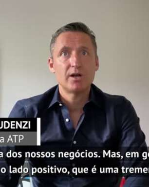 """TÊNIS: ATP: Gaudenzi sobre quarentena: """"O lado positivo é que todos os órgãos dirigentes do tênis estão unidos e colaborando entre si"""""""