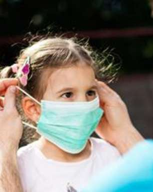 COVID-19 e o uso de máscaras em crianças: Devo ou não colocar?