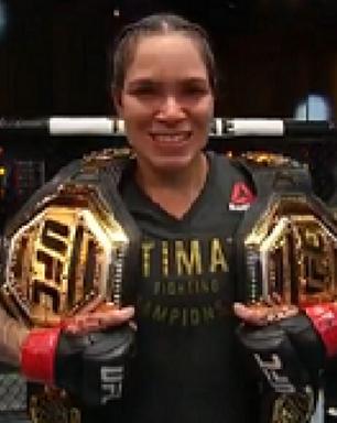 Amanda Nunes domina, vence Spencer e faz história no UFC