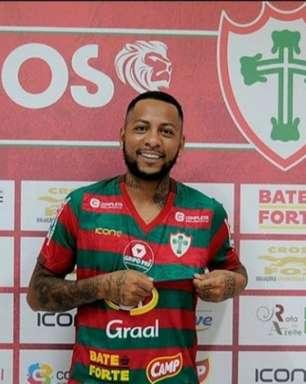 Portuguesa anuncia contratação de atacante ex-Grêmio e futebol europeu