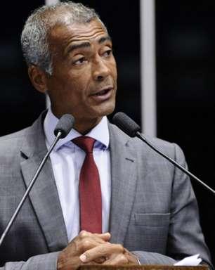 Romário rebate investidas de vice da CBF com ameaça de CPI