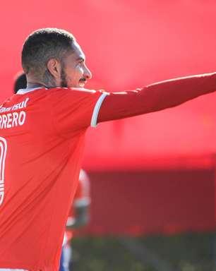 Inter domina Aimoré, vence com gols de Guerrero e vai à semi
