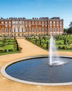 Os segredos por trás dos jardins do Hampton Court Palace