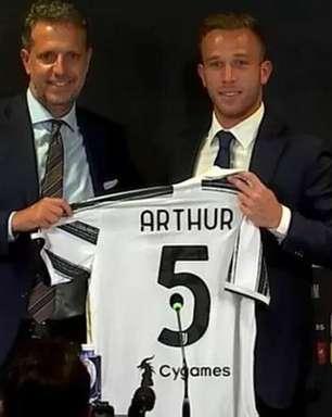 Arthur vibra por poder jogar com Cristiano Ronaldo na Juventus: 'Sonho realizado'