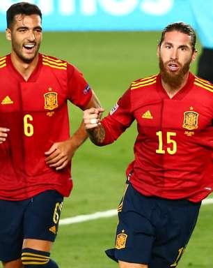 Espanha goleia Ucrânia pela Liga das Nações; Alemanha empata