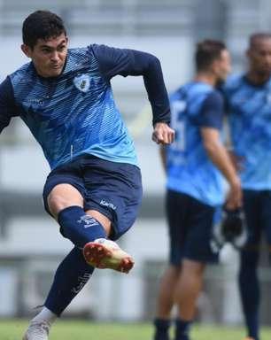 Atacante do Londrina relembra boa passagem pelo Brusque antes de reecontro pela Série C