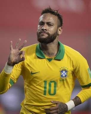 Neymar é top 10 de artilheiros do Brasil na Eliminatórias