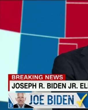 Comentarista da CNN chora ao vivo com vitória de Biden