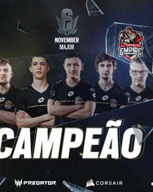 Team Empire supera BDS Esport e fica com título do Six Major Europeu de novembro