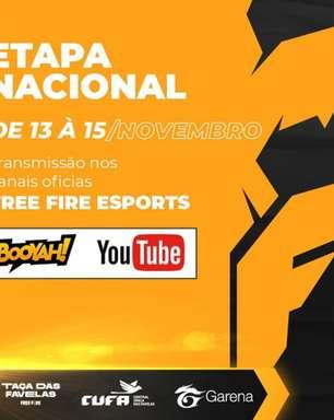 Taça das Favelas Free Fire define participantes das Seletivas Nacionais