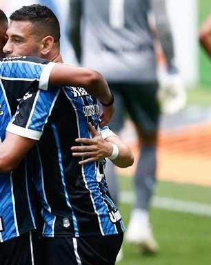 Diego Souza faz 2, Grêmio despacha Cuiabá e vai à semifinal