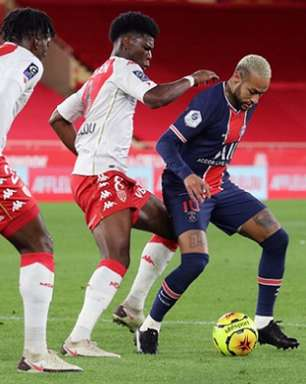 Na volta de Neymar aos gramados, PSG abre 2 a 0, mas leva virada do Monaco pelo Francês